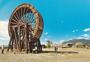 Canada Perry Creek Water Wheel Fort Steele British Columbia