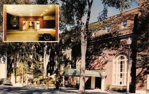 Glens Falls New York~Schine Queensbury Inn~1950s Cars~1965 Postcard