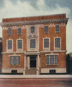 1911 YWCA Terre Haute Indiana Postcard Building Young Womens Christian Assoc