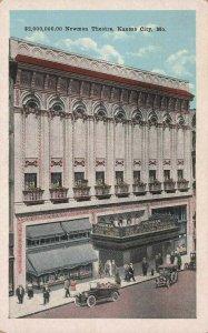 $2,000,000.00 Newman Theater, Kansas City, Missouri, 1920 Postcard, Unused