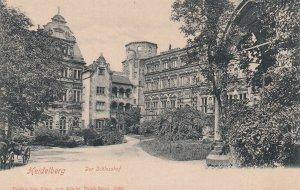 HEIDELBERG, Germany, 1901-1907; Der Schlosshof