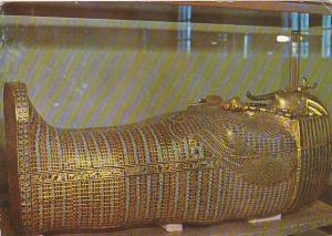 Egypt Cairo Egyptian Museum Tut Ankh Amun's Second Coffin