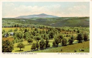 NH - Mt Monadnock  from Beech Hill