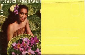 Folder - Hawaii. Flowers from Hawaii (12 Views + Covers + Narrative)