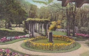 Vermont Springfield The Hartness House - Hartness Gardens In The Spring Alber...