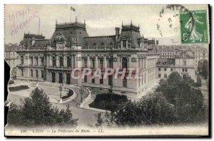 Old Postcard Lyon Rhone Prefecture