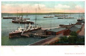 21817 Canada Halifax  British Fleet in Harbor