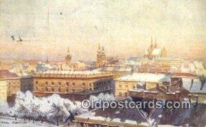 Artist Karel Cerny Series # 2089 1922 a lot of corner wear, postal marking on...