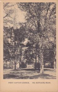 First Baptist Church , NORTH SCITUATE , Massachusetts , Pre-1907