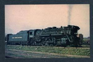 NY NEW YORK CENTRAL Railroad Train SCHENECTADY Postcard