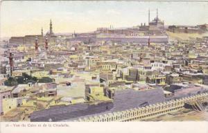 Vue du Caire et de la Citadelle , Egypt , 00-10s