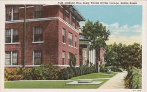 Ruth Stribling Hall , BAYLOR University , BELTON , Texas, 30-40s