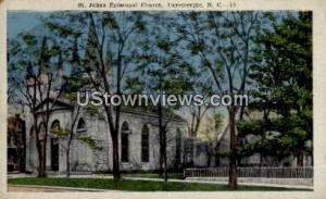 St. Johns Episcopal Church Fayetteville NC Unused