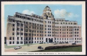 General Public Hospital,Saint John,New Brunswick,Canada