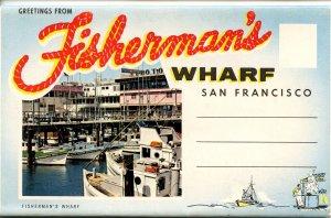 Folder - California. San Francisco, Fisherman's Wharf      (12 Views)