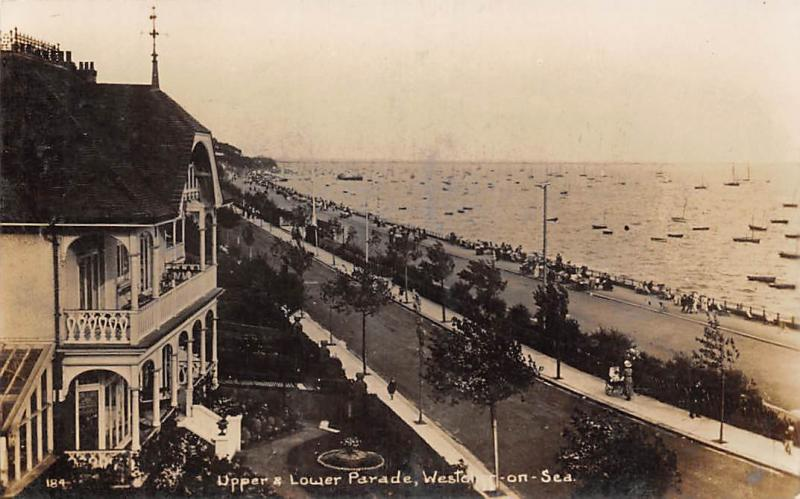 Upper Lower Parade Westcliff on Sea Promenade