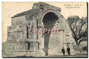 Postcard Old St Remy The Roman Triumphal Arch