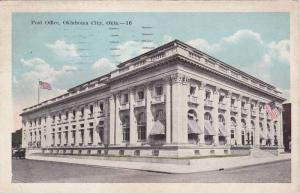 Post Office, Oklahoma City, Oklahoma, PU-1921