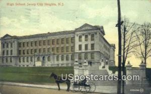 High School Jersey City Heights NJ 1909