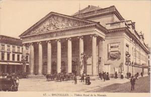 Belgium Brussells Theatre Royal De La Monnaie