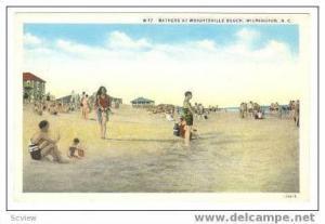 Bathers At Wrightsville Beach, Wilmington, North Carolina, 10-20s