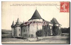 Postcard Old Castle Vieillecour Pres Bussiere Galant