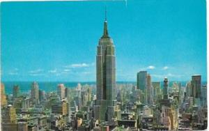 US Unused. New York, Empire State Building.  Skyline.