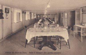 Hopital St Jean-de-Dieu, Quebec , Canada , 00-10s : Salle a manger des gardes...