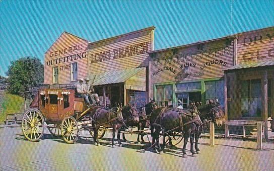 historic front street boot hill dodge city kansas hippostcard