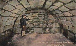 Florida Saint Augustine the Famous Secret Dungeon Fort Marion
