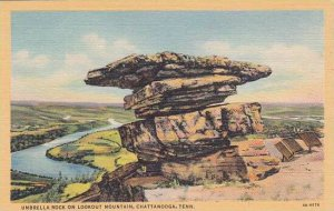 Tennesse Chattanooga Umbrella Rock On Lookout Mountain