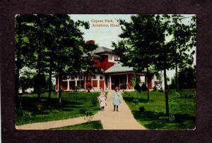 MA Capron Park Attleboro Mass Massachusetts Vintage Postcard Carte Postale