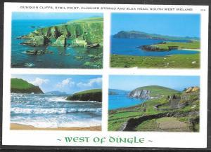 Ireland, Co. Kerry, West of Dingle, multivew, unused
