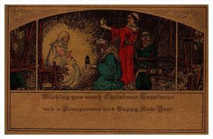 8712   Christmas    Mary with wise men