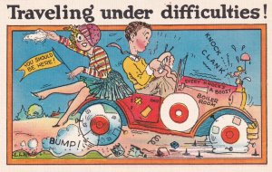 1930-1940's; Traveling Under Difficulties!