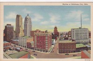 Oklahoma Oklahoma City Skyline Curteich