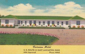 EAST LANCASTER , Ohio , 30-40s ; Fairview Motel