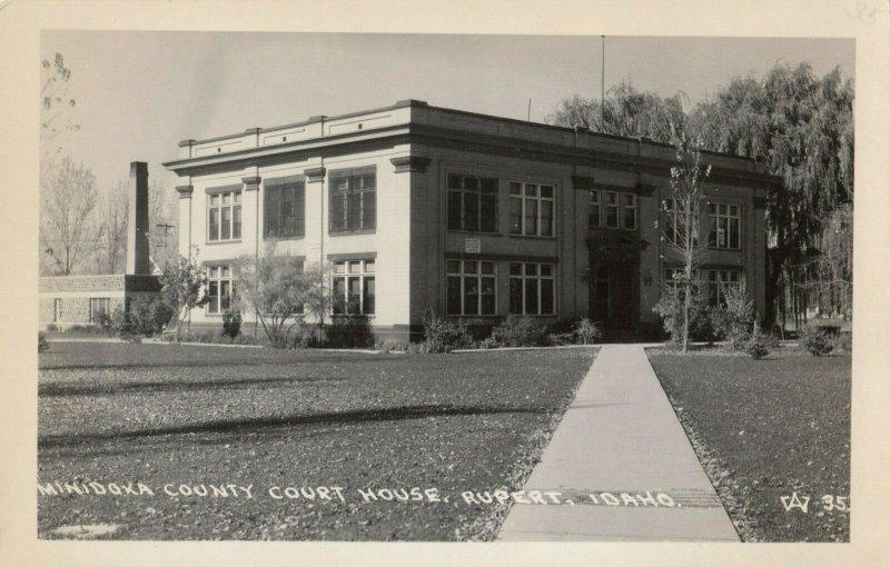 RP: RUPERT , Idaho , 1930-40s ; Court House