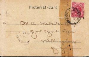 Family History Postcard - Webster - Wellington - New Zealand - Ref 2598A