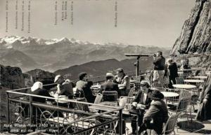 Switzerland Hotel Pilatus Kulm 02.86