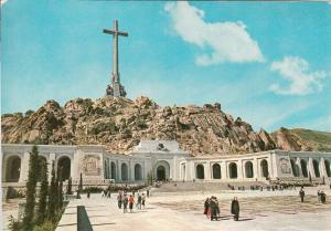 Spain Santa Cruz del Valle de Los Caidos esplanade principal face of monument