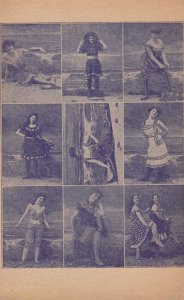 PIN-UP ; 9 Victorian Bathing Beauty's , 00-10s