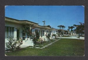 FL Siesta Terrace Motel US 41 NAPLES FLORIDA POSTCARD