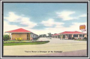 Texas, Houston - Ranger Motel  - Never a Stranger at the Ranger - [TX-032]