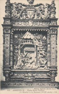 France Abbeville Eglise Saint-Vutfran Le Retable et la Nativite