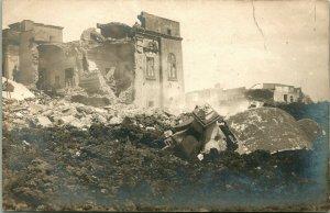 Vtg Véritable Photo Carte Postale Cppr Naples Italie 1906 Mt.Vésuve Eruption