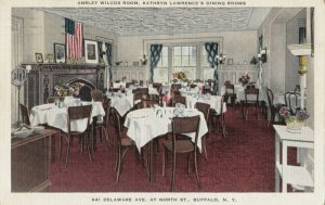 BUFFALO , New York, 1930-40s ; Kathryn Lawrence's Dining Rooms