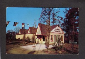 IN Miniature Circus Santa Claus Land Amusement Park Indiana Postcard