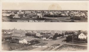 RP: WYNYARD , Sask., Canada , 1900-10s ; West & North Views