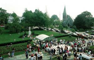 Rhode Island Westerly Library Erected 1894 100th Birthday Celebration